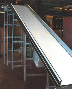 HESCO, handling engineering services and conveyors ltd edinburgh scotland, manufacturers and suppliers of all handling supplies, including conveyors, crane, pallet, stairclimber, and stacker equipment